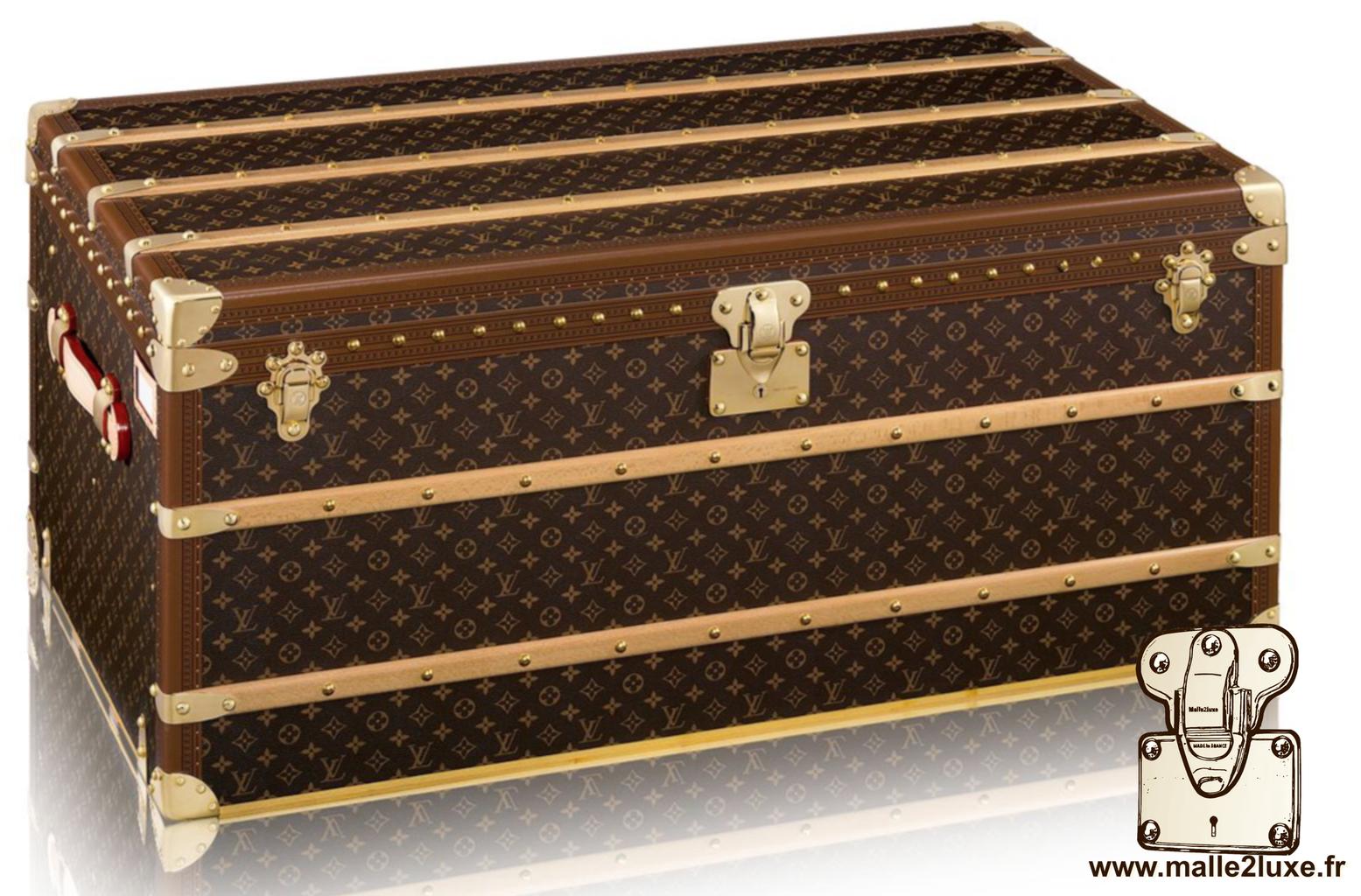 lexique et d finition d 39 une malle ancienne luxe malle louis vuitton. Black Bedroom Furniture Sets. Home Design Ideas