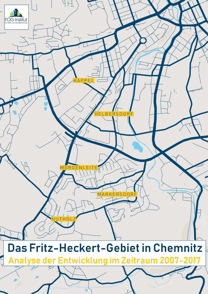 Karte Chemnitz.Fritz Heckert Gebiet Chemnitz Fog Institut Fur