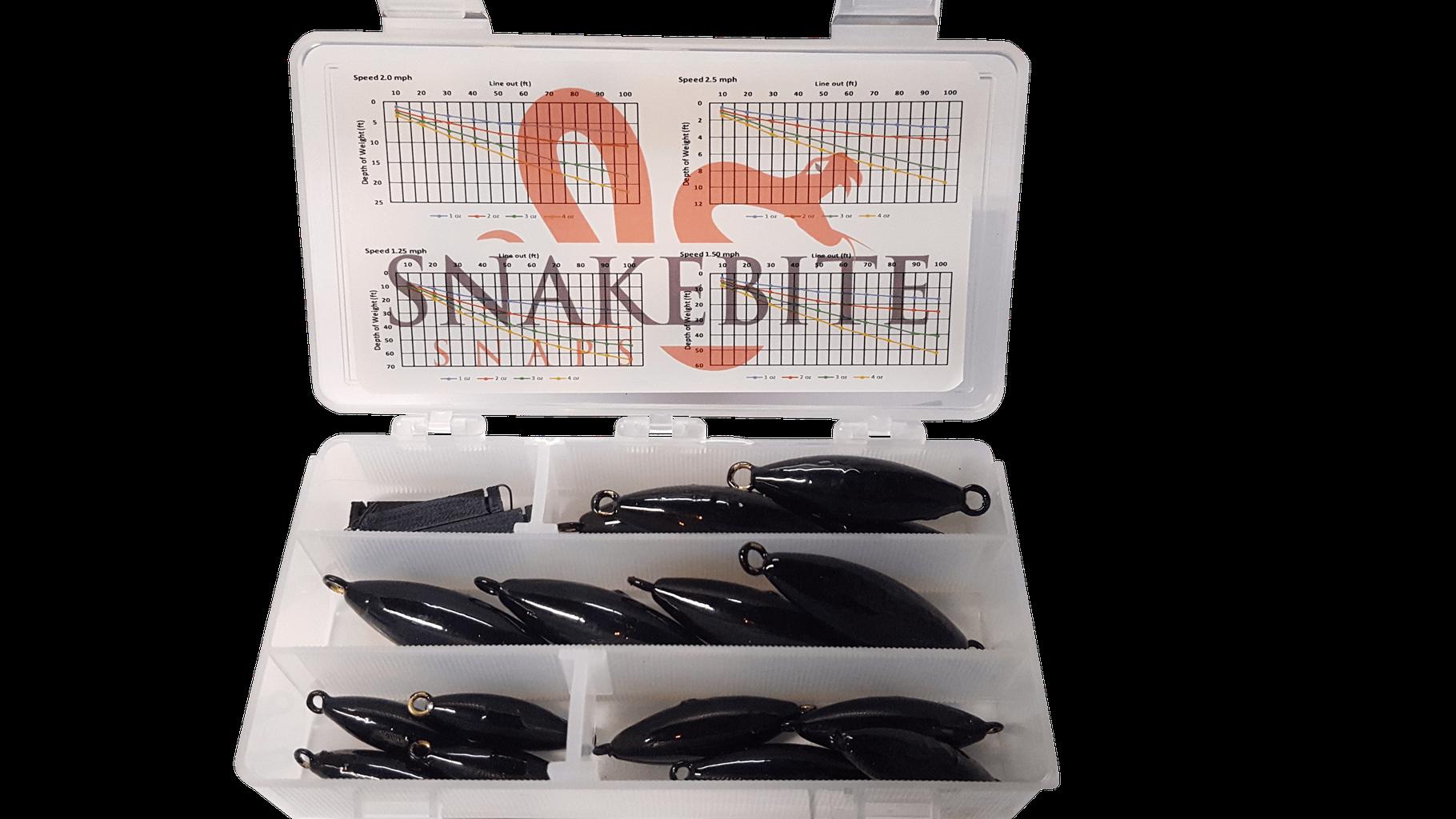 Fishing Snap Weights - snakebitesnaps