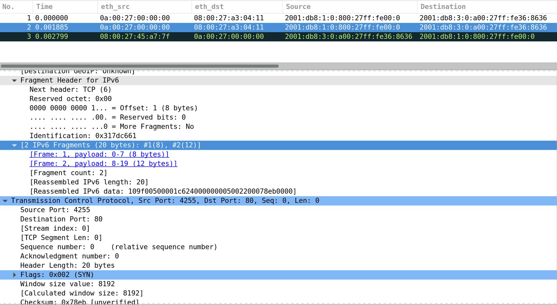 Testing pfSense as an IPv6 Firewall - A Weird Case (Testing IPv6