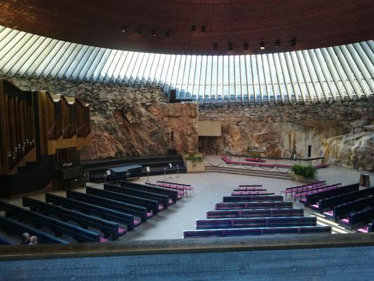 Felskirche in Helsinki