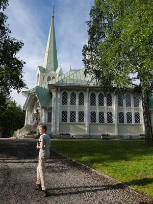 Holzkirche in Jokkmokk