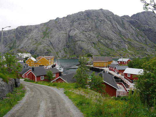 Rückblick auf Nusfjord