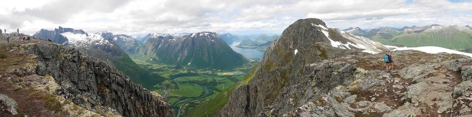 Blick zum Isfjord