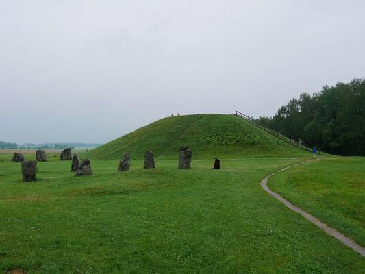 Grabhügel des legendären Königs Bröt-Anund