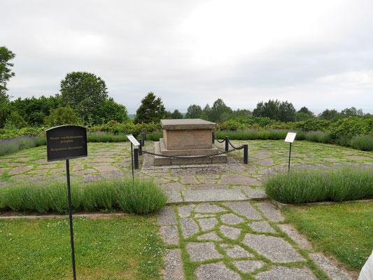 Grabstätte des Nobelpreisträgers Verner von Heidenstam