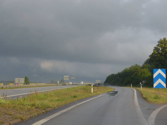 Schwedische Autobahn