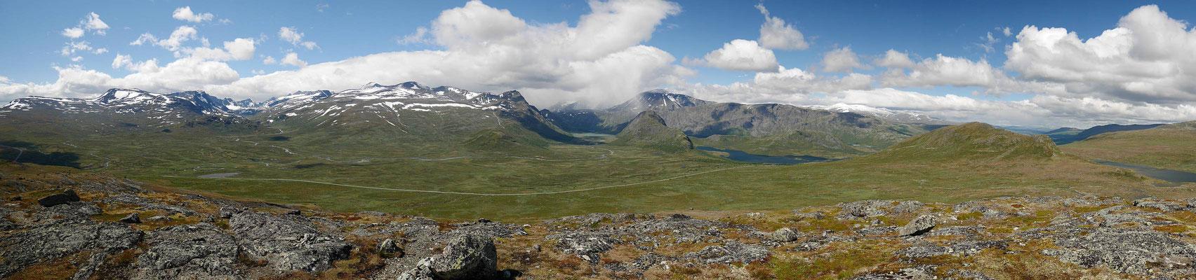 Panorama vom höchsten Punkt