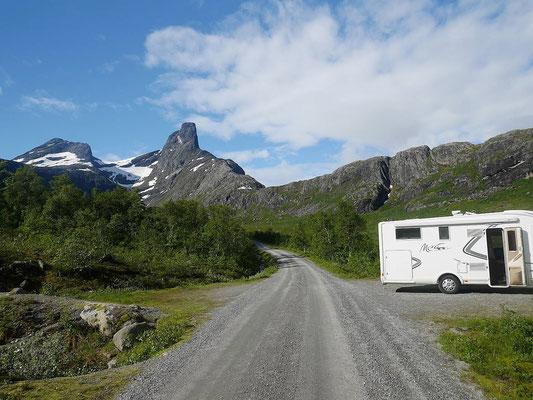 Blick zum Romsdalshorn