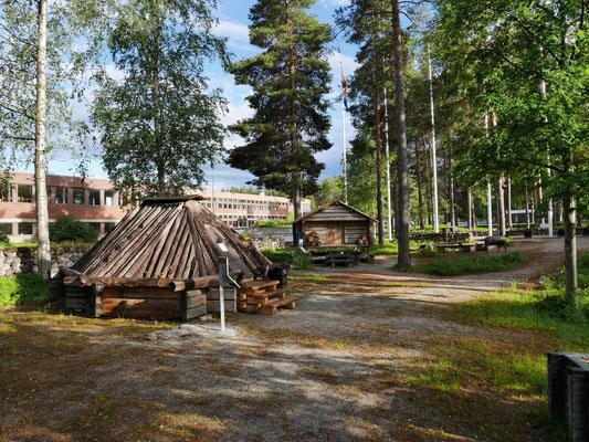 Außenanlagen im Sami-Museum Jokkmokk
