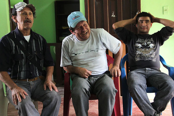 ACRIM Treffen Hugo, Milton (Schatzmeister ACRIM) (Wilfrido Abad ganz rechts)