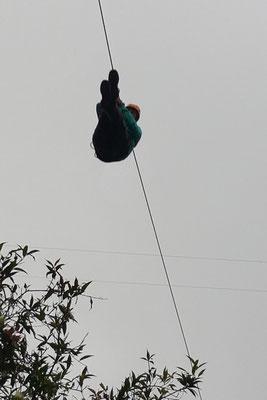Gerrit beim Canopy