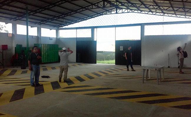 Neue Lagerhalle der ACRIM für die Annahme der Ernte