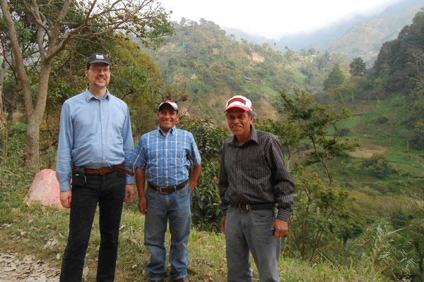 Gerrit, Marcos, Genaro Cuenca del Naranjo