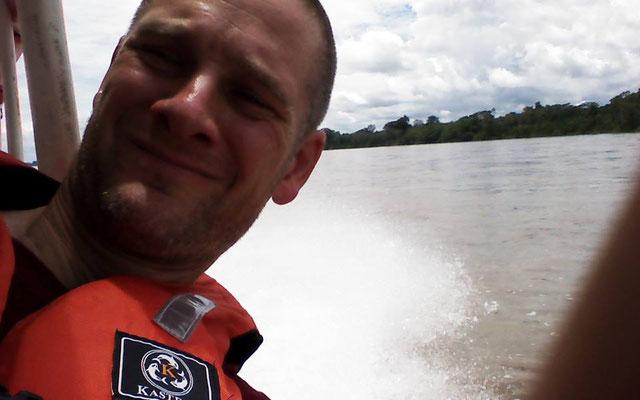 Pingo auf dem Schnellboot