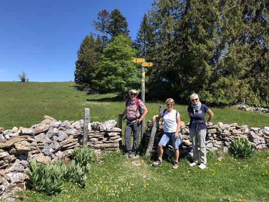 Aufstieg zu Le Maillard