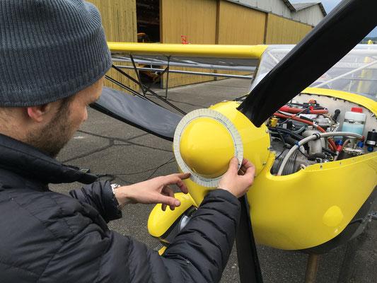 Propeller balancing by Fa Valair