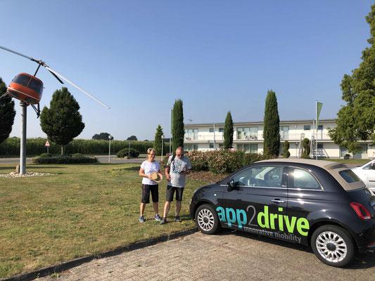 Mobil dank App2Drive