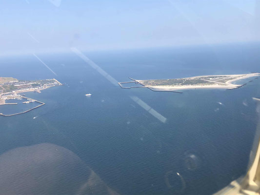 Helgoland in Sicht