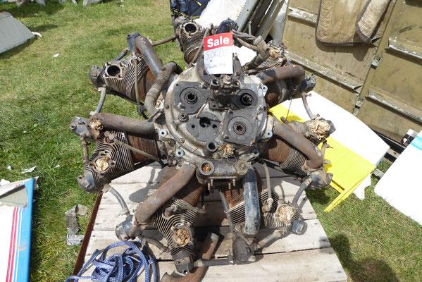 Auch was als Junk aussieht findet einen Käufer, Jacobs Radial engine