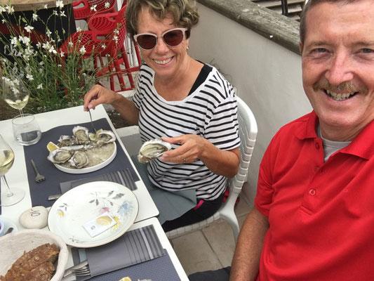 Frische Austern ein Genuss