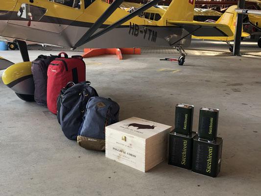 Der KITFOX bewährt sich wieder einmal als Cargo Hauler