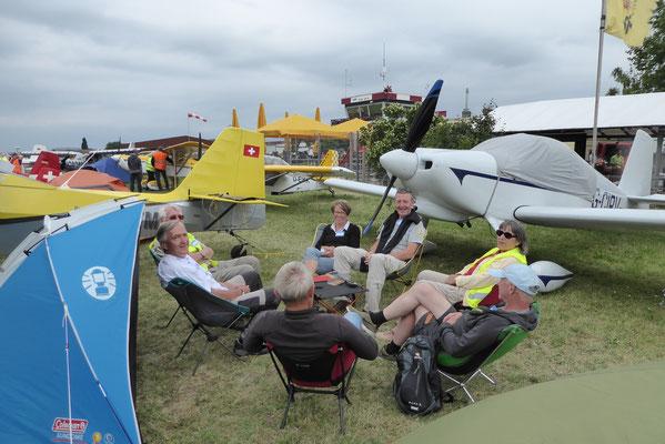 Gemütliches hangar flying