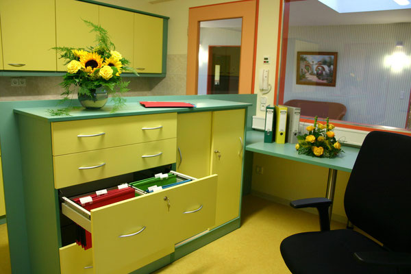 Schwesterndienstzimmer