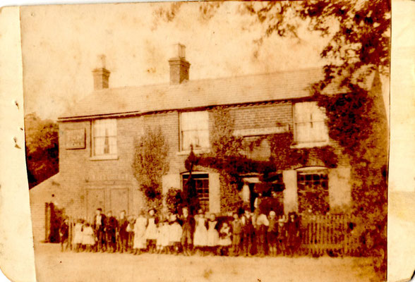 Warstock Inn before 1894 - photograph courtesy of Jill Abrahall
