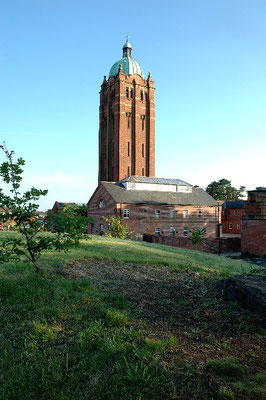 Hollymoor Hospital water tower survives. Image by Andrew Clayton on Geograph