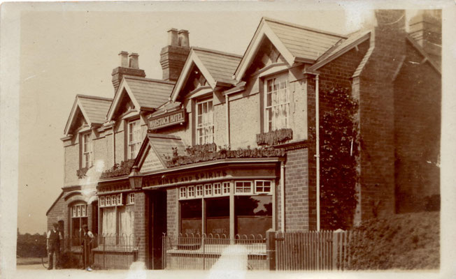 Warstock Inn after 1894 - photograph courtesy of Jill Abrahall