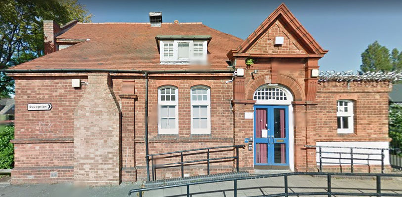 The old school now a nursery school - image from google Maps Streetview 2019