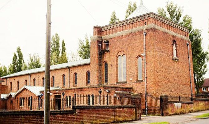 Our Lady of Lourdes Roman Catholic Church built 1966 - image from Taking Stock: Catholic Churches of England & Wales