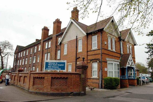 West Heath Hospital in 2015 - image from BirminghamLive