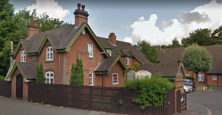 John Cottrell's Almshouses on School Road for two widows founded in 1715 now run by Yardley Great Trust
