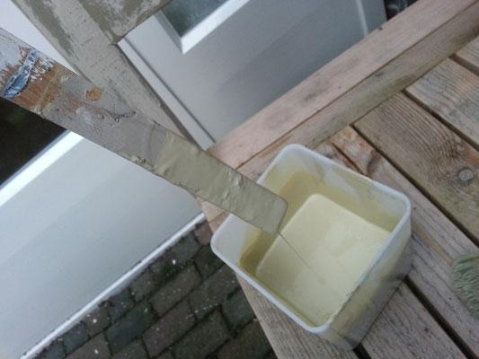 Leren Stoel Verven : Het verven van stoffen bekleding met chalk paint™ van annie sloan