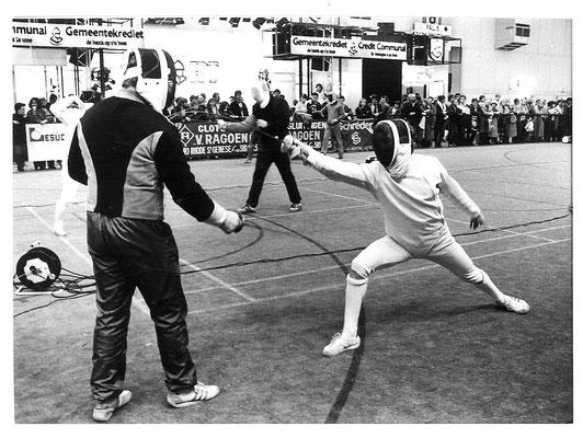 1976 Démo à Coxyde