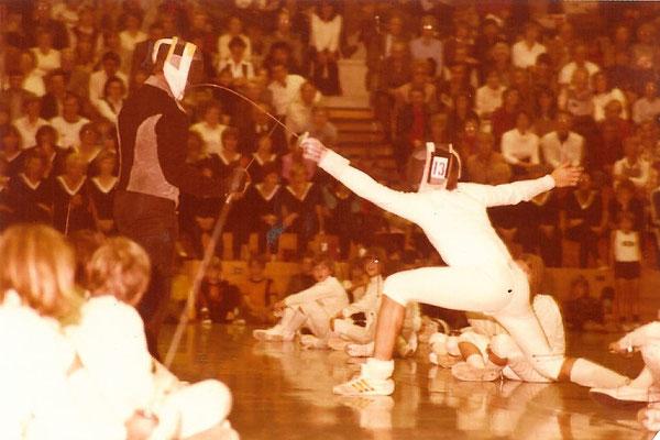 1985 Démo au Gala Bal de Solingen
