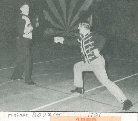 1985 démo en uniforme
