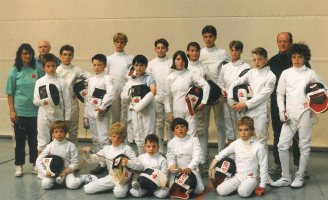 1985 jeune équipe de Solingen