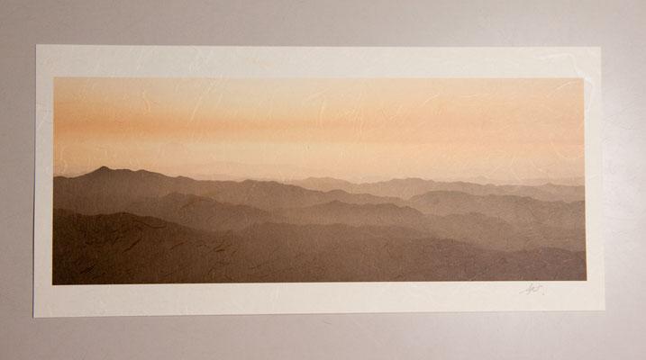雲流紙・風景サンプル
