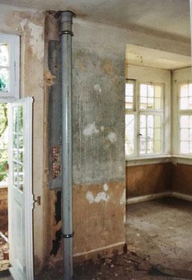 "Kernsanierung ""Villa Becher"" 1998/99 - Privatwohnung OG/DG"