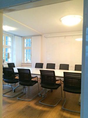 Konferenz-/Besprechungssituation für bis zu 10 Personen - Villa Becher