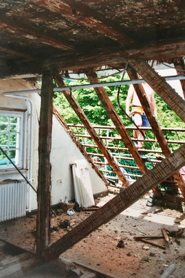 "Kernsanierung ""Villa Becher"" 1998/99- Privatwohnung OG/DG"