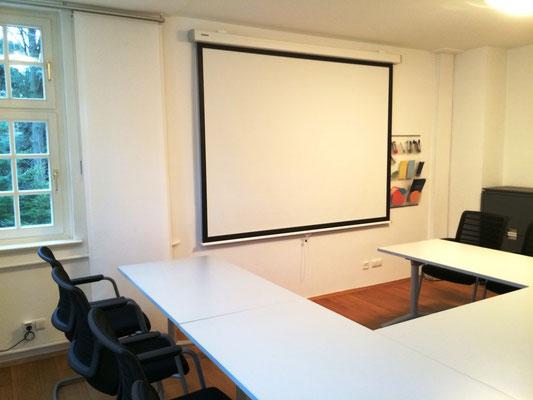 U-Form für Präsentationen für bis zu 10 Personen - Villa Becher