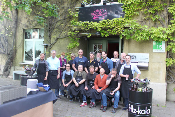 Event-Gruppenbild Continental Korbach bei den Fliegenden Köchen, Kassel