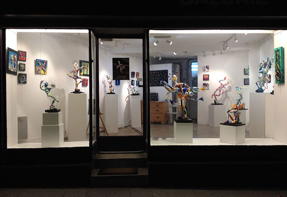 Galerie 43 en nocturne