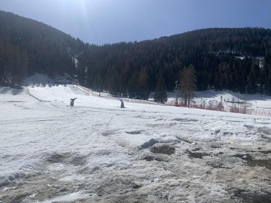 Der Bewegungsweg führt auch beim Family Skilift Weißenbach vorbei
