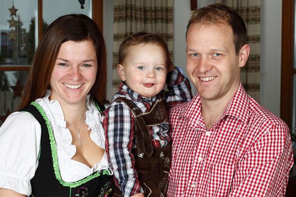Familie Kirchler vom Traditionsgasthof Mösenhof
