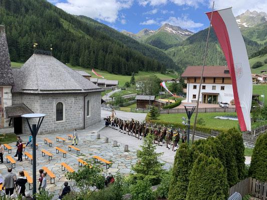 Herz Jesu Feier in Weißenbach am 21. Juni 2020
